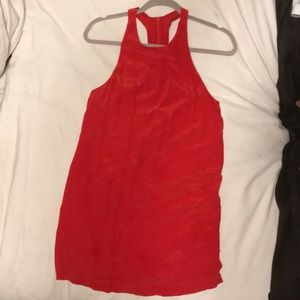 Bella Lux Red Dress - small